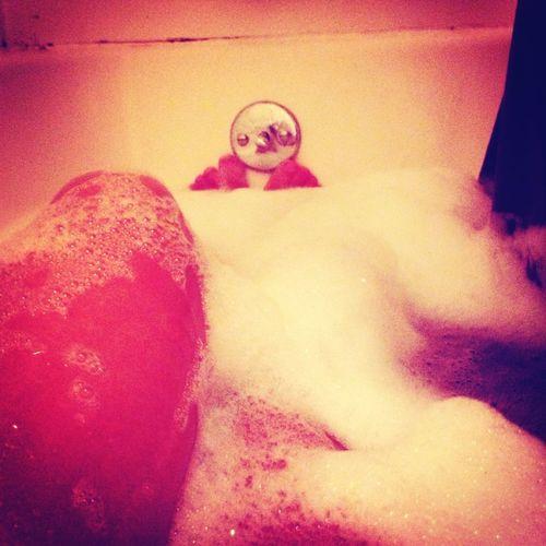 My bubble bath I took ❤
