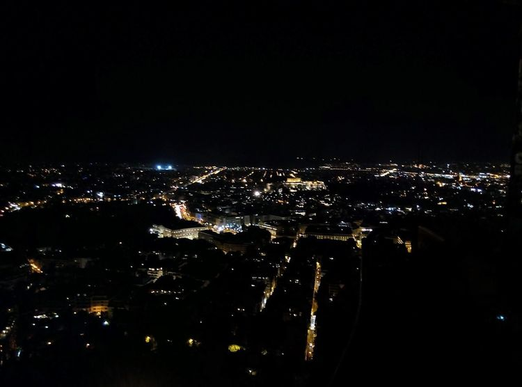 Lycabettus Lycabettus Athens Greece Night Illuminated Cityscape No People City Travel Destinations Outdoors Sky Urban Skyline Airplane Idyllic Scenics Front View City Life Citylights Nightphotography Night Lights Night Photography From My Point Of View Frontview Hill Acropolis HUAWEI Photo Award: After Dark