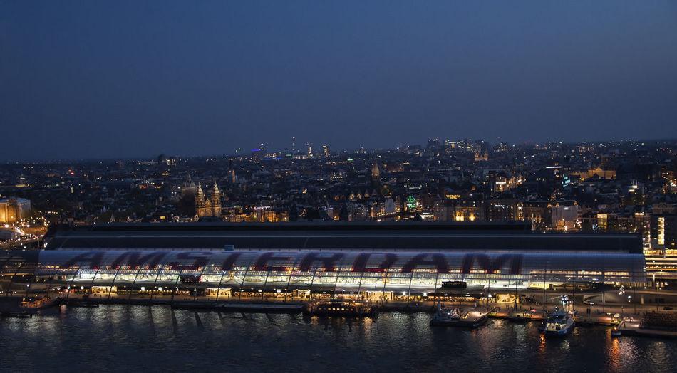Amsterdam le soir