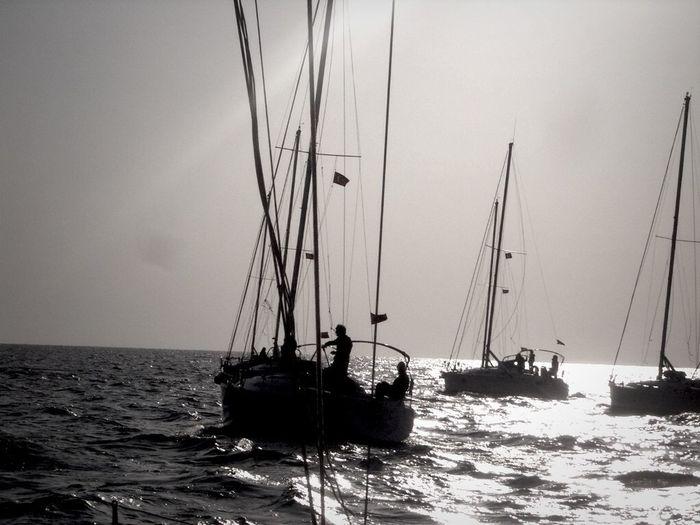 Sailing To