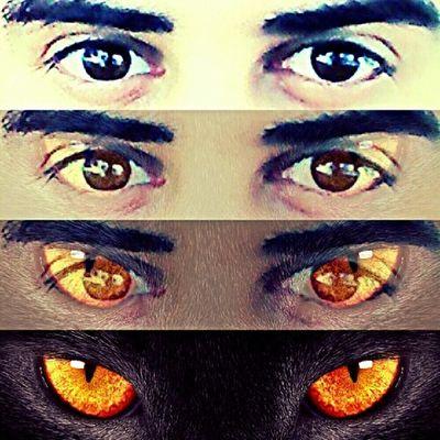 Cat eyes)))))