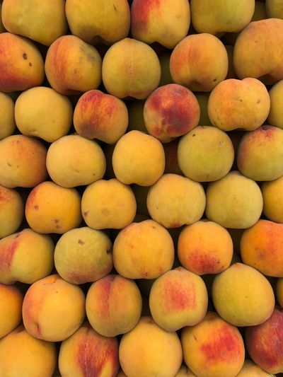 Thanks God Peaches🍑 Fruit Food And Drink Healthy Eating Full Frame Backgrounds Food Market Freshness Retail  Abundance No People Large Group Of Objects Close-up Day Outdoors Supermarket