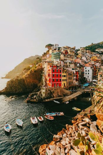 Cinque Terre Travel Cinqueterre Italy Built Structure Architecture Building Exterior Building Sky Nature The Great Outdoors - 2018 EyeEm Awards The Traveler - 2018 EyeEm Awards