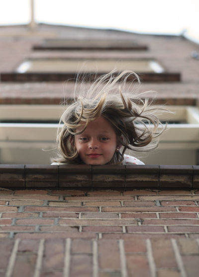 Amsterdam Jordaan Amsterdam Child Childhood Girls Hair Headshot Leisure Activity One Person Real People EyeEmNewHere