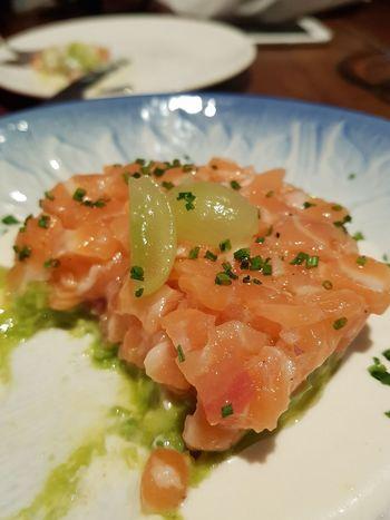Tuna Tartare Spanish Restaurant Foodphotography Seafood