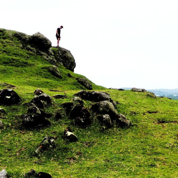People at marese hill lombok INDONESIA Lombok Haybro! Maresehill Full Length Mountain Men Adventure Sky Grass Close-up Green Color