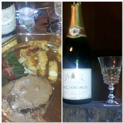 Instamiam ' un by de Sanglier Miam_ Miam_ miam_ ' accompagne de champagne Decourance ...... suivi d' une pause 'clop '' donc champagnons ptdr , instasale instalike instagram instantané igersfrance instanice instasmock instafood instareveillon paris France ....