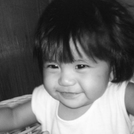 Priceless smile ;) meet my beautiful niece Schuyler Louise Babygirl Babysky kulitmoment minionfanatic