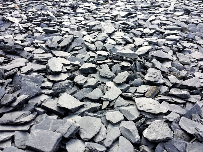 Slate Stones Stone Material Full Frame Backgrounds No People Outdoors Sunlight Close-up