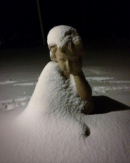 Winter Winter Wonderland Snow Angel Snowangel Sweden
