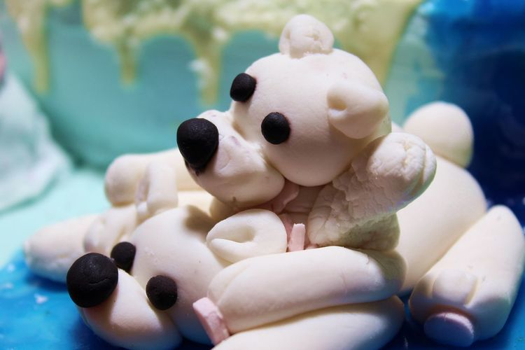 Animal Animal Representation Cake Candy Candy Animal Candy Bear Candy Bear Full Color Fondente Ready-to-eat Shaped