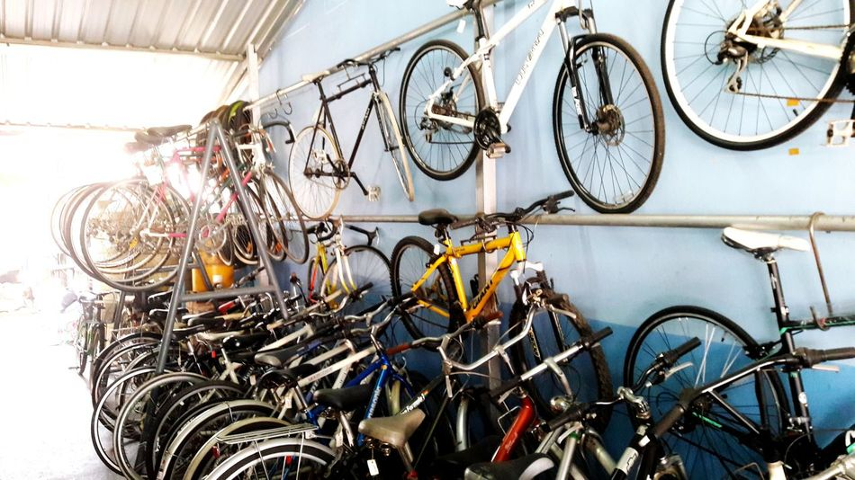 Bicycle Mode Of Transport Transportation Bicycle Shop Large Group Of Objects Store Indoors  Variation Choice Stationary Business Finance And Industry Hanging Day No People Repair Shop