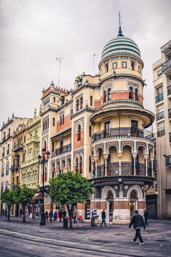 City Architecture City Life Travel Destinations Building Exterior Outdoors Cityscape Day Adult Sevilla Sevillagram Sevilla Spain HDR Streetphotography Photography Architecture Street City