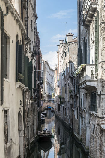Gondola Old Town Venice, Italy Architecture Canal Canals And Waterways Nautical Vessel Old Buildings Water