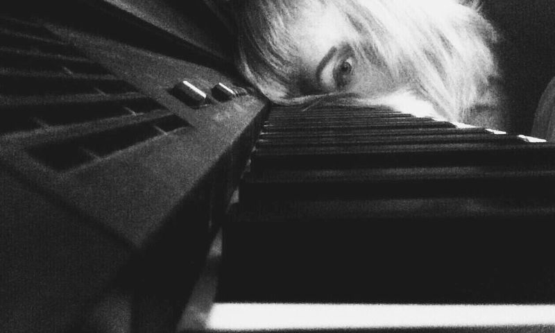 Piano Moments Indoors  One Person Close-up Day Adult People Pianoday Minor