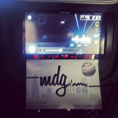 Get ya mind right keep ya grind right and ya cicle tight ya money get right Mdgofficial Stickers