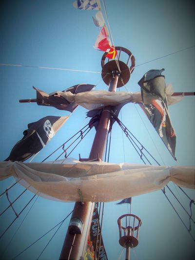 Clipper Ship Crows Nest Historical Ships Low Angle View Mast Mode Of Transport Rope Sailboat Sky Thisweekoneyeem Instagram Pics Instagram