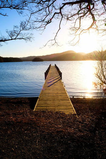 Coniston Waters Lake District Lake District National Park Beauty In Nature Coniston Coniston Water Day Jetty Structure Jetty View Jetty, Pier Lake Mountain Nature No People Outdoors Reflection Scenics Sky Sunset Tranquil Scene Tranquil Scene Outdoors Tranquility Tree Water Wooden Jetty