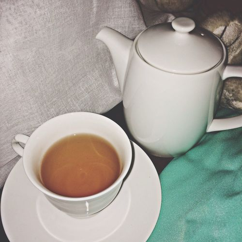 Relaxing Time @ Home Drinking Tea
