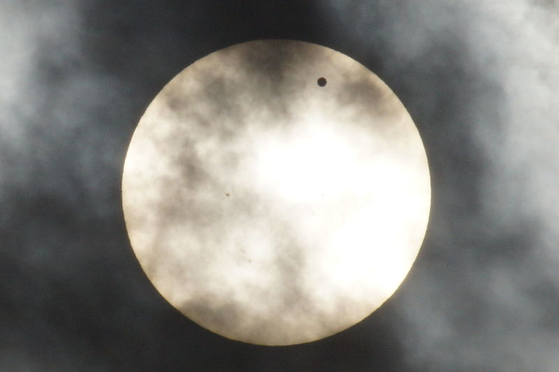 Venus Transit of Sun, 2012 Astronomy Beauty In Nature Circle Close-up Cloud Cloud - Sky Cloudy Low Angle View Majestic Moon Moon Surface Nature No People Outdoors Overcast Planetary Moon Scenics Sky Space Exploration Sphere Tranquil Scene Tranquility Venus Transit Weather