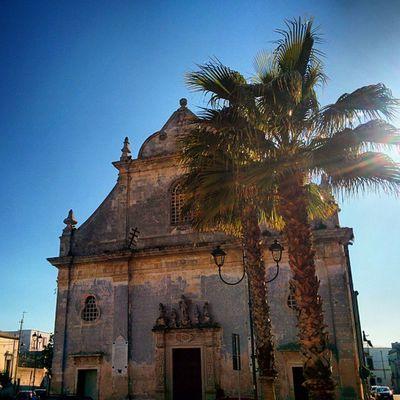 Ortelle Salento Piazza Chiesa sangiorgio