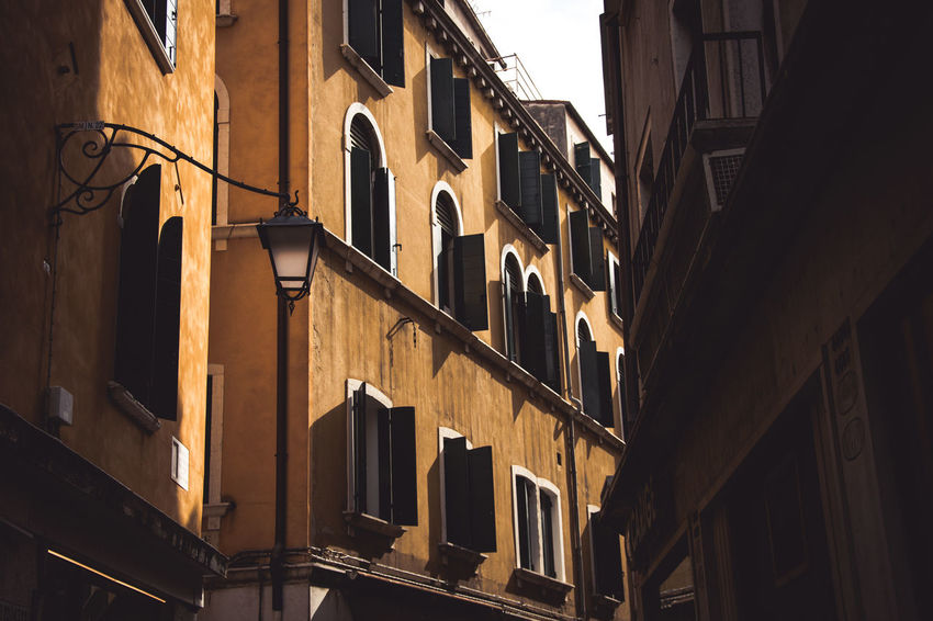 Architecture Architecture Architecture_collection Balcony Building Exterior Built Structure City Colorful Colors Day Italy Kerber Low Angle View No People Outdoors Photography Sky Window The City Light Place Of Heart