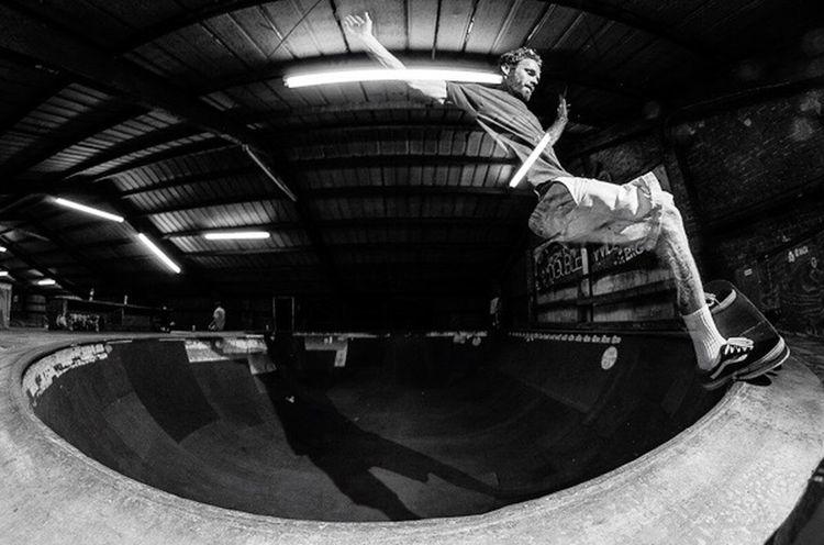 Bj in the corner... Skateboarding Frontside Frontsidefive_O Blackandwhite Faster