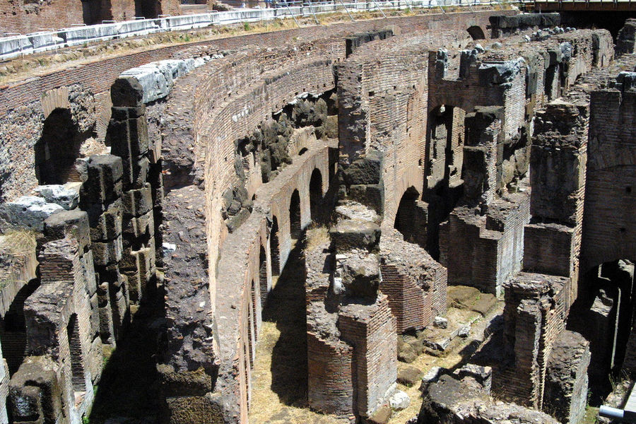 Ruins of the Coluseum - Rome, Italy Ancient Ancient Civilization Architecture Built Structure Coluseum Day History No People Old Ruin Outdoors Rome, Italy The World Before Bin Laden Moving Around Rome