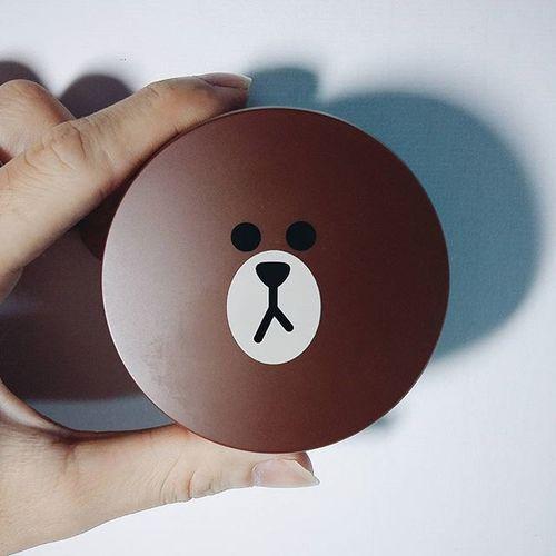 Gấu ơi là gấu ❤❤ Brown Linefriends Missha