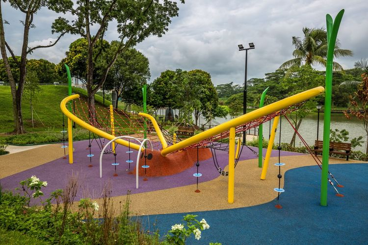The Butterfly Playground 3 @ Marsiling Park, previously known as Woodlands Town Garden. This was a bit challenging to take a nice photo of when I went by in June 2018. Oh. Nearby there is an actual butterfly garden too! Public Playground Public Park Butterfly Day Multi Colored No People Outdoor Play Equipment Outdoors Park Playground