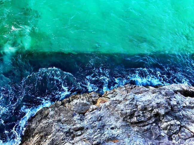 Sea Water Nature Outdoors Marseille Marsiglia Mare Onde Scenics Wave Blue Day IPhone IPhoneography IPhone7Plus