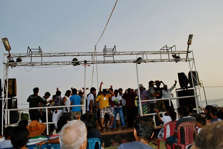 Newyear Celebration Arts Culture And Entertainment Mid Adult Sky Large Group Of People Young Women Adult Sunset Young Adult Adults Only People Outdoors Performing Arts Event Day Goa Cruise Dancing Ship Brazil Carnival Crowds