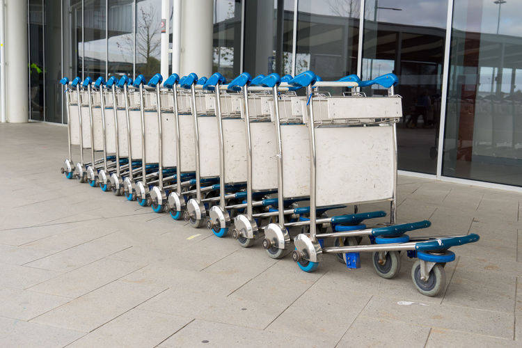 Carts By Building