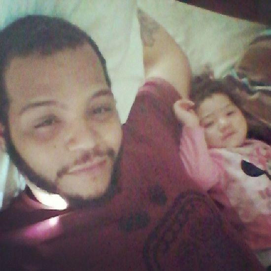Me n moomies layin down she no feel good Daddydaughtertime Hernurse lol @lokachina89