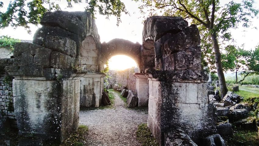History Archeology Tree Sunlight Sun Sky Architecture Historic The Past Old Ruin Historic Building
