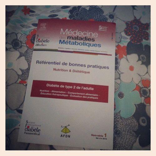 """Reading """"Référentiel de bonnes pratiques Nutrition & Diététique Diabète de type 2"""" SFD readingtime todayreading"""