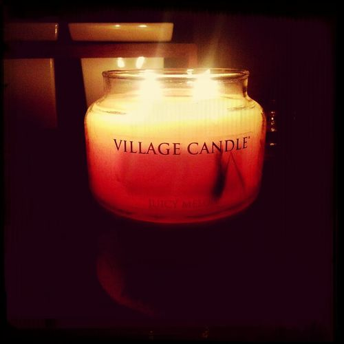 Relaxing Village Candle Juicy Melon