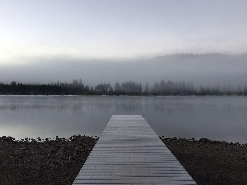 Morning across Donner Lake in Truckee  California First Eyeem Photo