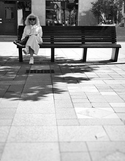 Women Sitting France EyeEm Best Shots EyeEmBestPics Streetphotography Eye4photography  City Blackandwhite Streetphoto_bw Bnw Street Blackandwhite Photography Black And White Portrait Oldwoman