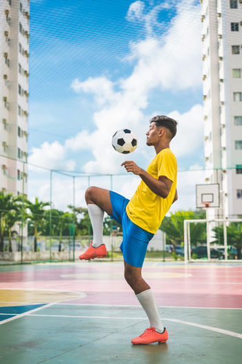 Soccer player 2018 Athlete Brazil Champion Court Dribbling Football Males  Man Skill  Uniform Activity Ball Brazilian Kicking People Player Playing Professional Sport Soccer Soccer Ball Soccer Player Sport Sports Sports Clothing