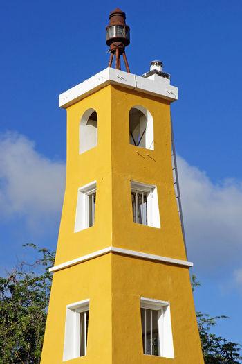 Lighthouse of Kralendijk, Bonaire, ABC Islands Abc Islands Antilles Architecture Bonaire Building Exterior Built Structure Caribbean City Coast Coastline Day Dutch Antilles Kralendijk Leeward Islands Lighthouse No People Outdoors Sights Sightseeing Tourism Tourist Attraction  Town Travel Travel Destinations West Indies