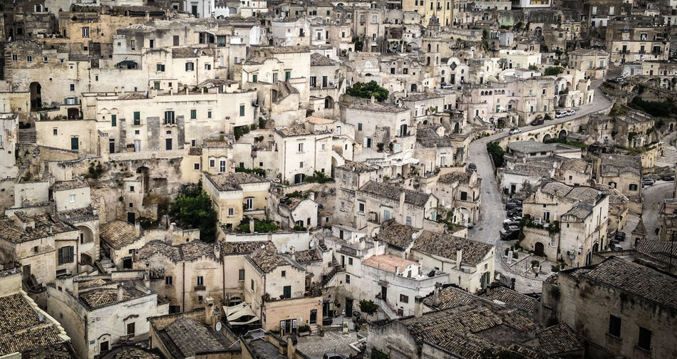 Contorted Historic Historical Building Old City Old Town Romantic Rooftops Street Vintage