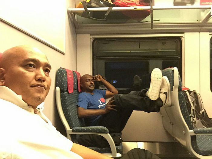 My Commute (ERL... Express rail link) From Kuala Lumpur To Airport KLIA...