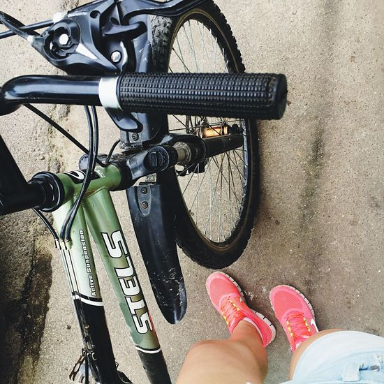 Hello World Popular Popular Photos Summer Summertime Summer2016 Walking Bicycle Bicycles Love Followme That's Me 2016 Loveit Beautiful Goodday Relaxing Iphone6s Sun