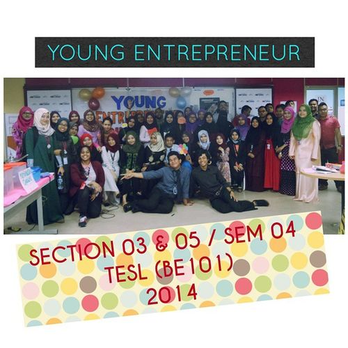 Today's Event. 11.00 am until 3.00 pm. (: Entrepreneurship Usahawanberjaya BE101 Tesl teslian Thank you everyone. Thank you Miss G. Thank you Project Manager and assistant. Thank you KPTMKL THANK YOU! ?