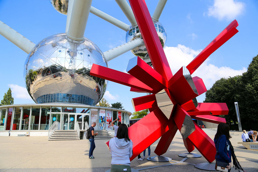 Art And Craft Belgium Brussels Colorful Creativity Cultures Day Decoration Expo Hanging International Landmark Large Group Of Objects Life Low Angle View Multi Colored Outdoors Part Of Red Religion Shape Tradition Urban