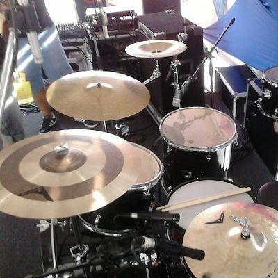 Primeiro set de hoje - Banda Ato De Fé bateria drums drumer instamusic music hallel aparecida