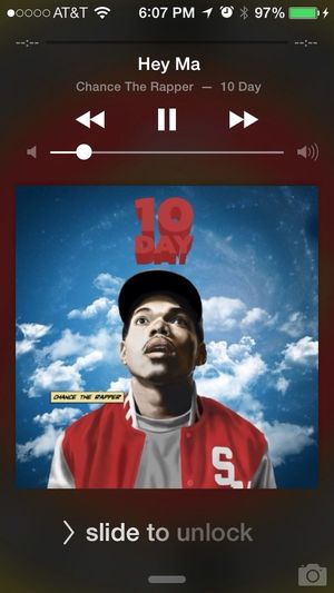 Chance that rapper Check This Out Enjoying Life Relaxing