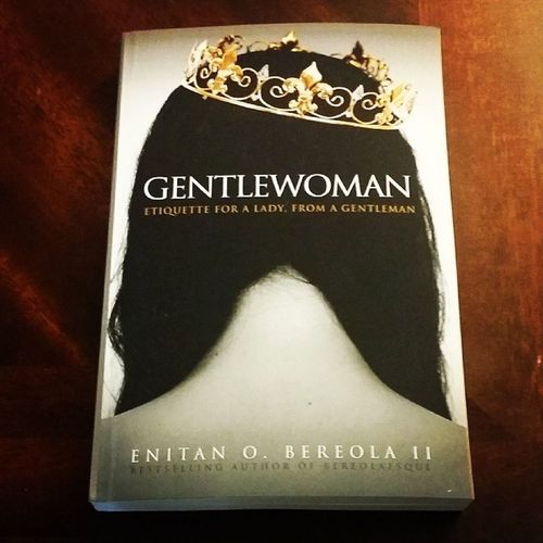 I heard great things about this book by @bereolaesque...can't wait to read ? ? ? Gentlewoman EnitanOBereolaII