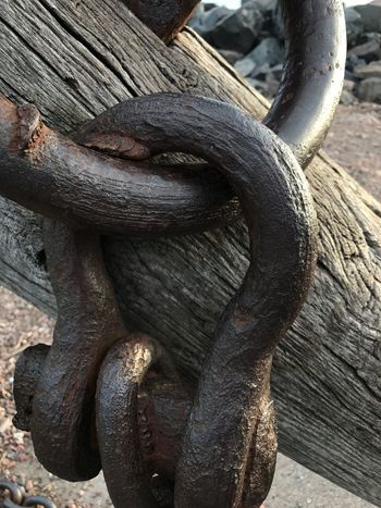 No People Close-up Wood - Material Chain Links Day Outdoors Interesting Perspectives